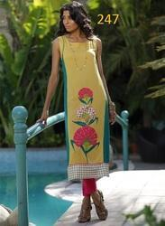 Long Printed Fancy Kurti