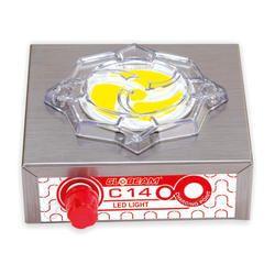 Metal C-14 Rechargeable LED emergency Light, Battery Type: Lead-Acid, Capacity: 1000 mAh