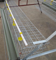PVC Feeder for Rearing Cages