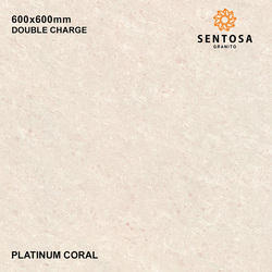 Platinum Coral Double Charge Vitrified Tiles