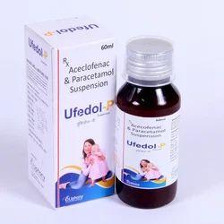 Aceclofenac & Paracetamol Suspension Aceclofenac 50mg