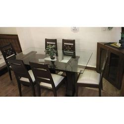 Six Chairs Designer Dining Table