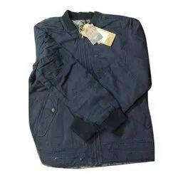 Blue Full Sleeve Full Sleeves Men Jacket