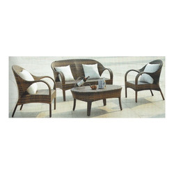 Patio Rattan Sofa Set