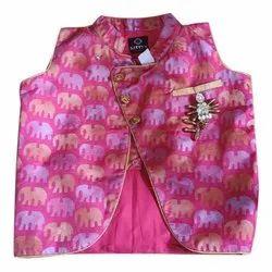 Cotton Kids Party Wear Koti