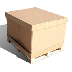 Brown Pallet Corrugated Packaging Box