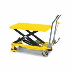 Manual Scissor Table Trolley