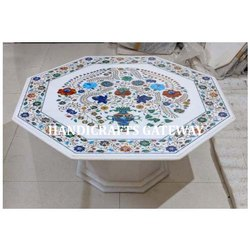 Beautiful Marble Inlaid Table