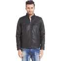 Xs To Xxxl Mens Full Sleeve Rexine Jacket