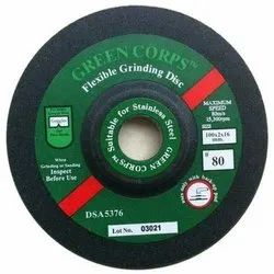 Green Corps Metal FLEXIBLE GRINDING DISC, Size: 4 Inches