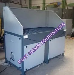 Down Draft Suction Table (With Pulse Cleaning System)