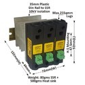 90 AMP DC TO AC SOLID STATE RELAY