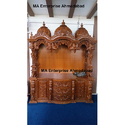 Indian Wooden Pooja Mandir