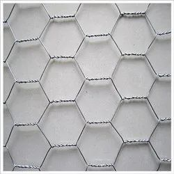 Silver Hexagonal Wire Mesh, For Industrial, Material Grade: Ss 316