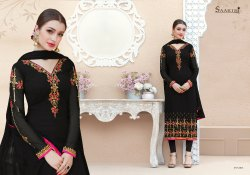 embroidery ladies Unstitched suit