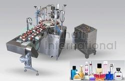 Adinath Cosmetic Filling Line, Capacity: Depends upon model