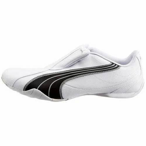 75e3f5b913e Men Puma Tergament White Black Sports Shoes
