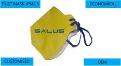 Yellow PP Dust Mask PM 2.5