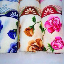 Cotton Floral Printed Hand Towel
