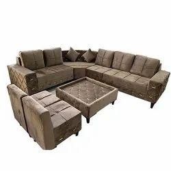 7 Seater Home L Shape Sofa Set
