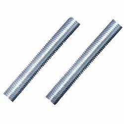 White Zinc Gi Full Threaded Rod, Size: 6mm To 20mm