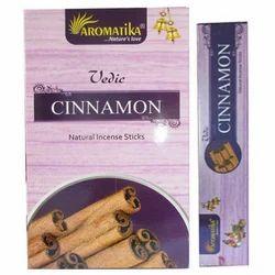Aromatika Vedic Cinnamon Incense Sticks-15gram pack
