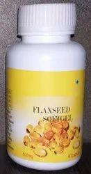 Flaxseed Softgel Capsules