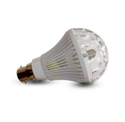 5W Rotating Coloured LED Bulb