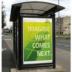 Bus Shelter Advertisement