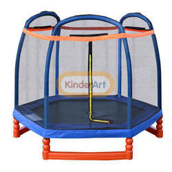 7 Ft. Hexagon Trampoline (with Safety Net)