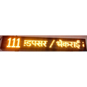 Bus Route Moving LED Display
