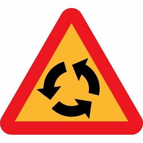 Triangle Sign Board Road Signs Test ट र फ क स इन