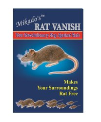 Rats Powder Rat Vanish Mikado's, Uses: Kills Rats , Packaging Type: Box