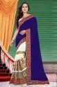 Riva Enterprise women's designer chain Embroidred saree