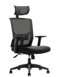 Microfiber Mesh High Back Office Executive Chair