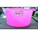 Pink Plastic Tub