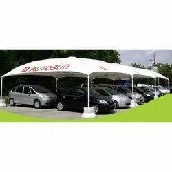 Modular Car Parking Canopy Tensile Umbrella