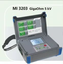 MI 3203 5KV Insulation And Voltage Tester With PI And DAR