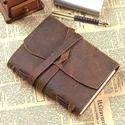 Leather Bound Diary Handmade