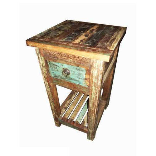 Brown Wooden Bedside Table Rs 3500 Piece Ganesh Industries Id