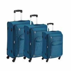 Polyester VIP Aristrocrat Soft Sided Navy Blue Luggage Bag