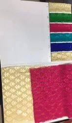 Plain Dyed Silk Brasso Fabric