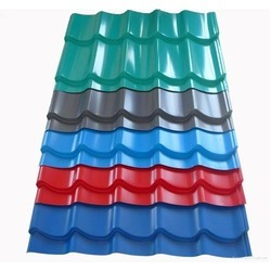 Colour Coated Roofing Sheet In Ahmedabad Gujarat Get