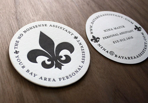 Circle Business Card Printing