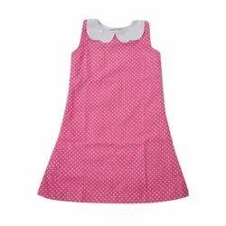 Cotton Casual Kids One Piece Dress