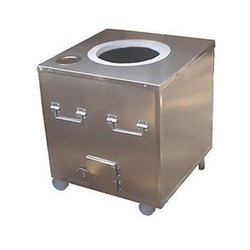 YR Stainless Steel SS 304 Tandoor, Capacity: 80-150 L