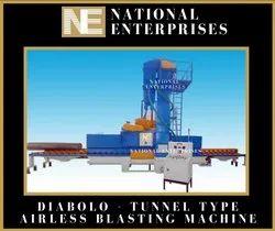 Diabola Type Airless Portable Sand Shot Blasting Machine