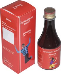 SYPRODINE Allopathic Cyproheptadine HCl Syrup IP, Packaging Type: Bottle, Packaging Size: 200 Ml
