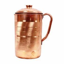 Copper Brown Water Jug