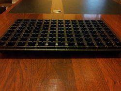 98 Cavities Seedling Tray - Premium Square Design